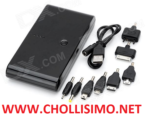 CHOLLO Powerbank de 20.000 mAH 10,2€