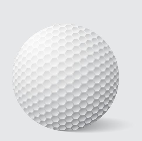 Adobe Illustrator free tutorials: How to create a golf ball