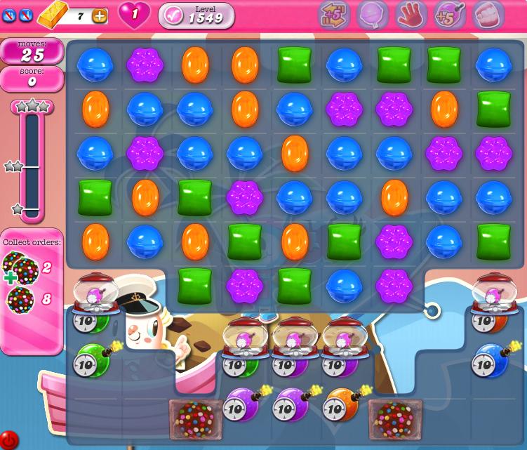 Candy Crush Saga 1549