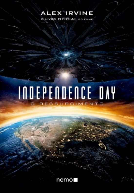 Capa Independence Day O Ressurgimento