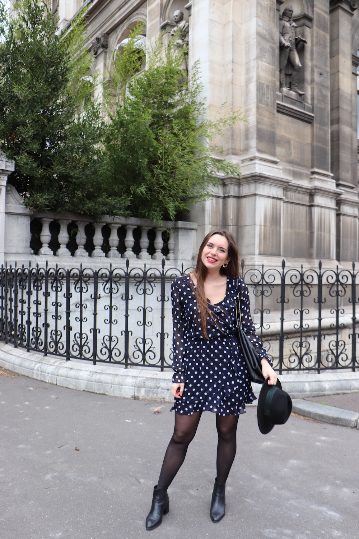 robe à pois H&M 2