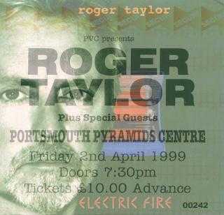 Roger Taylor - Portsmouth 1999