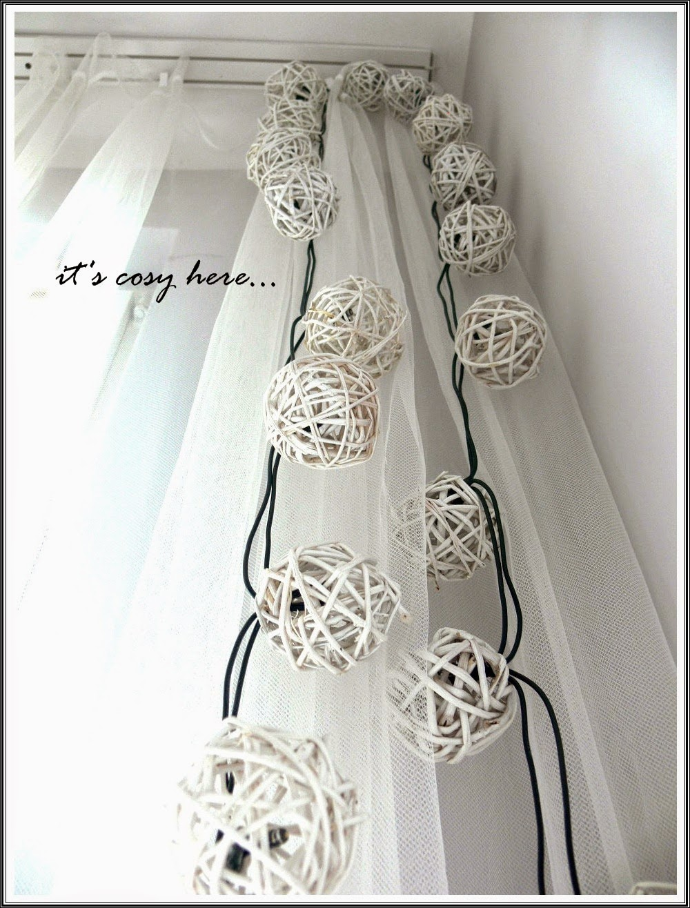 Rattan Ball Lights...