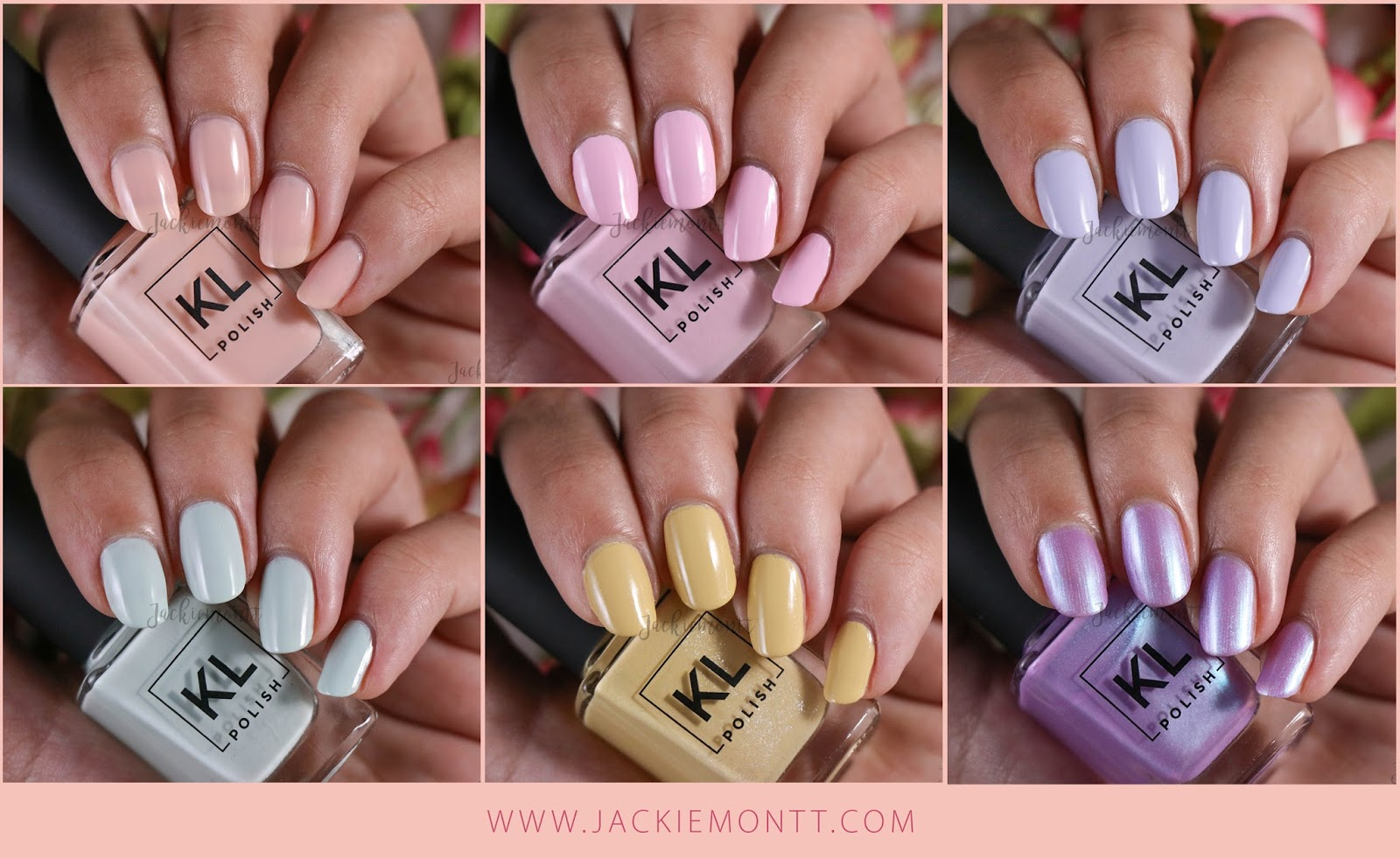 KL Polish Ethereal Garden Collection Swatches and Review - JACKIEMONTT
