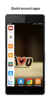 Menu cạnh, truy cập nhanh ứng dụng, chụp ảnh màn hình, double tap tắt màn hình