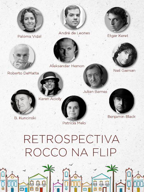 Retrospectiva Rocco na Flip - Paloma Vidal