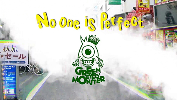 """Green Eyed Monster premiere video for """"No One Is Perfect"""""""