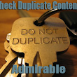 Search Engine Optimization-Check Duplicate Content of Blogs