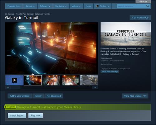 Star Wars Battlefront 3 saldrá gratis para Steam muy pronto 1