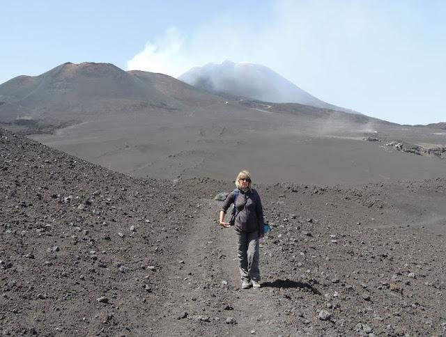nei pressi della Montagnola e dietro l'Etna
