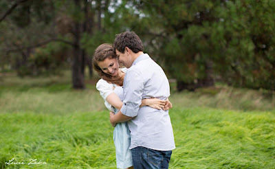 Kristy and Jesse - Engagement Photoshoot, Centennial Park Sydney