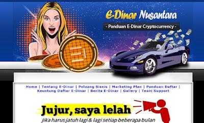 Jasa Blog Bisnis E-Dinar