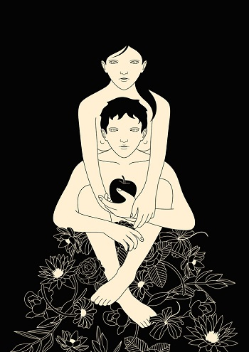 """Eve and Adam"" by Pedro Takahashi 