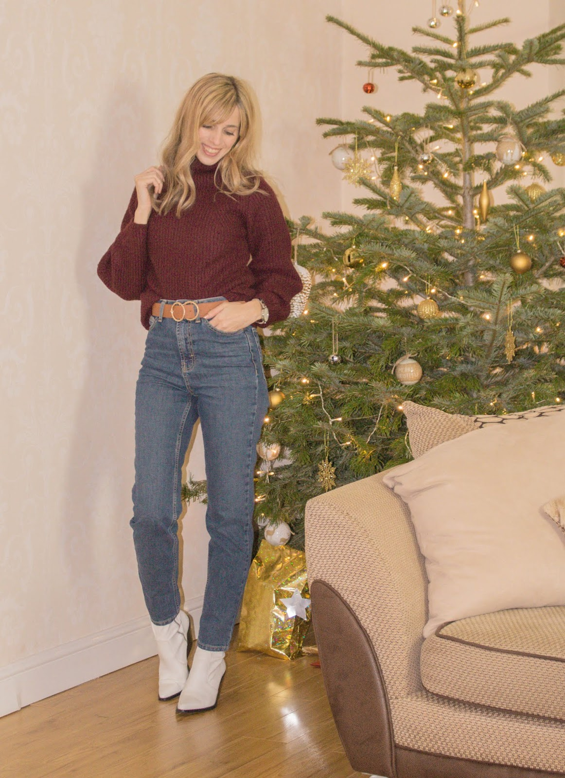 Outfit With Topshop Orson Jeans
