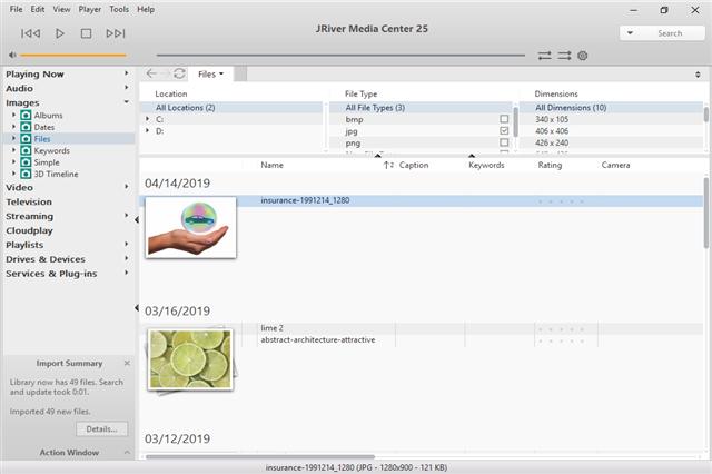 تحميل برنامج تشغيل وتنظيم مختلف أنواع الميديا J. River Media Center للويندوز