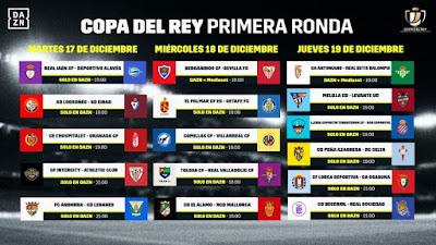 Mediaset y DAZN emitirán la Copa del Rey