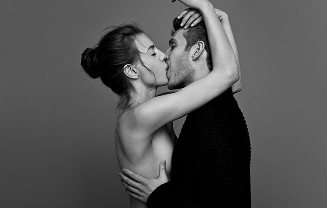 Why we close eyes while kissing