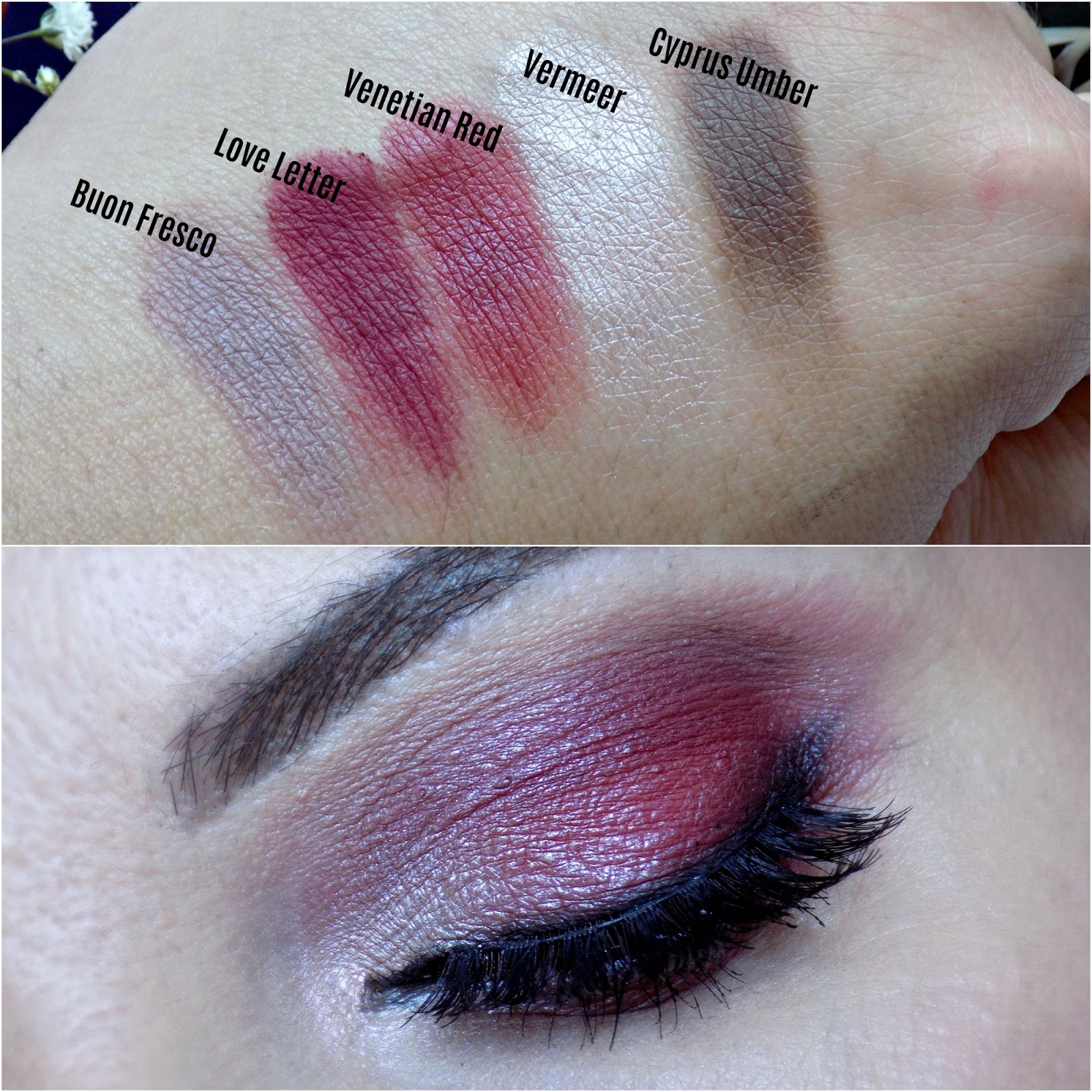 Eye makeup look with Anastasia Beverly Hills Modern Renaissance palette