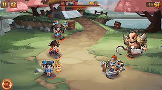 Game Chaos World 2 Ultimate Fighter V1.0.3 MOD Apk ( Hight Damage )