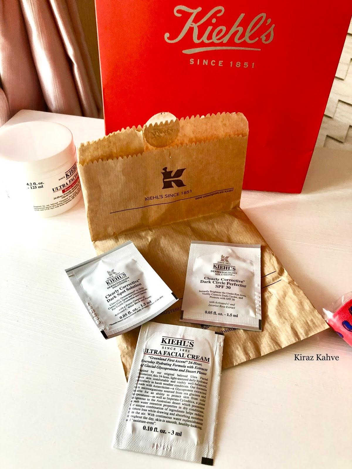 kiehl's deneme boy ürünler