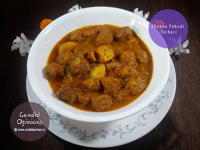 Chenna Pakudi Tarkari (Chesse Kofta Curry)