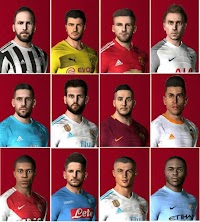 First Face Pack - PES 2017