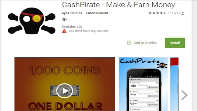 Cash Pirate Free Cash