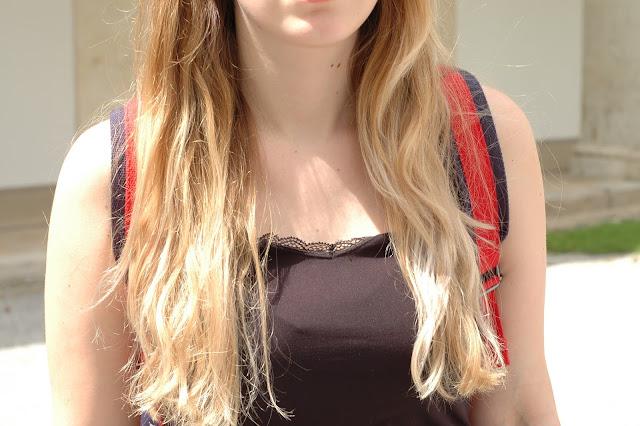 Haare blondieren mit Kokosöl - Pre-Oiling
