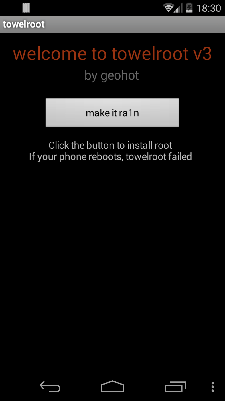 root without reboot