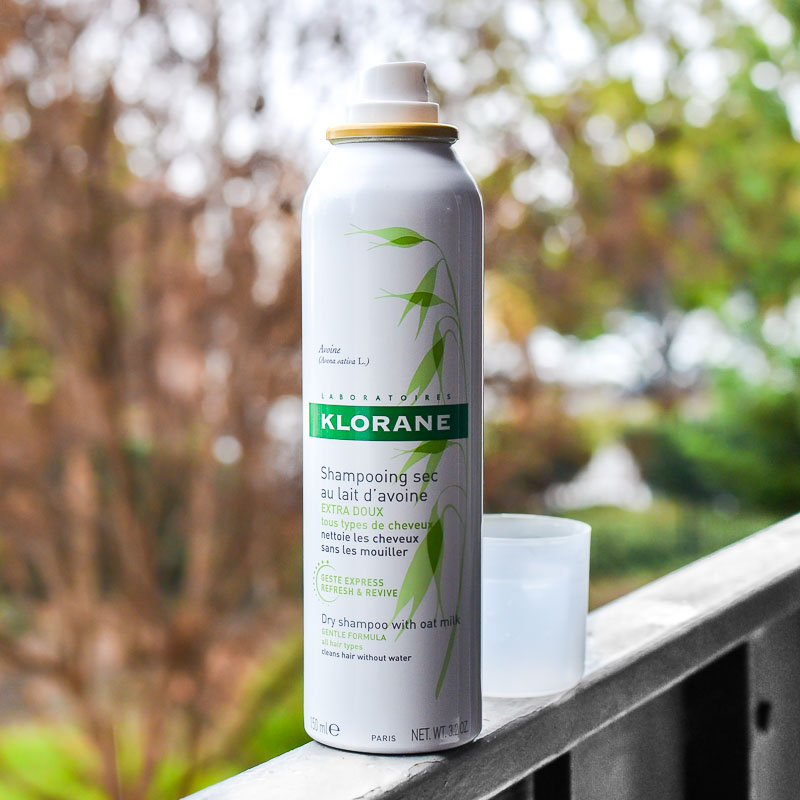Klorane Dry Shampoo with Oat Milk - Review