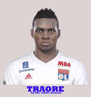 PES 2019 Faces Bertrand Traoré by The White Demon