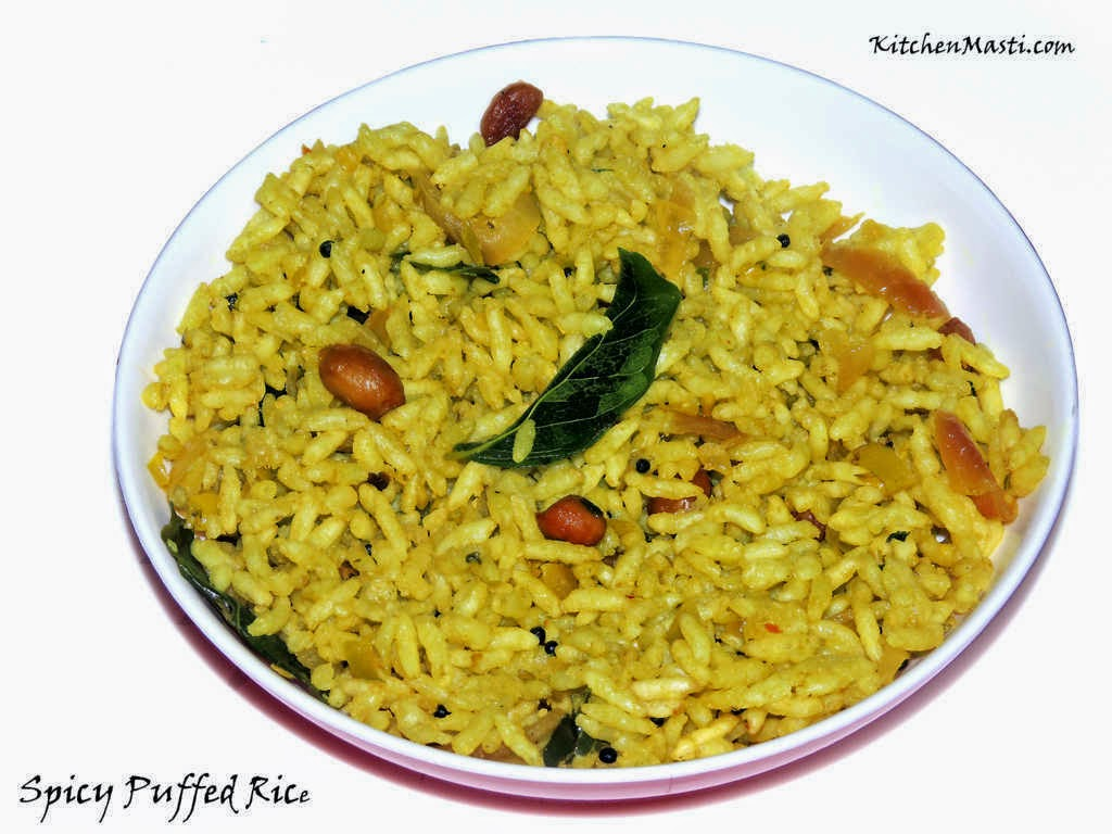Spicy Masala Puffed Rice