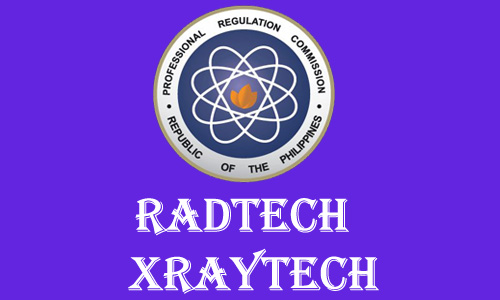 June 2013 Top TEN RadTech, XrayTech Board Exam Results