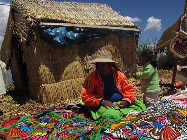 Jezioro Titicaca w Peru