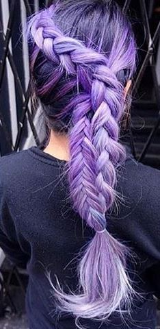 Purple Braid Idea