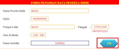 gambar data NISN