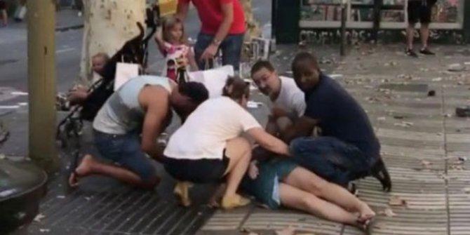 Innalillah, Tragedi Mengerikan di Barcelona, 13 Orang Tewas, 100 Luka-luka, Diduga ISIS Dalang Serangan Membabi Buta dengan Mobil Van Ini