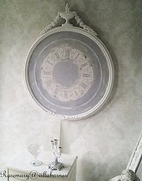 Framed Clock Face