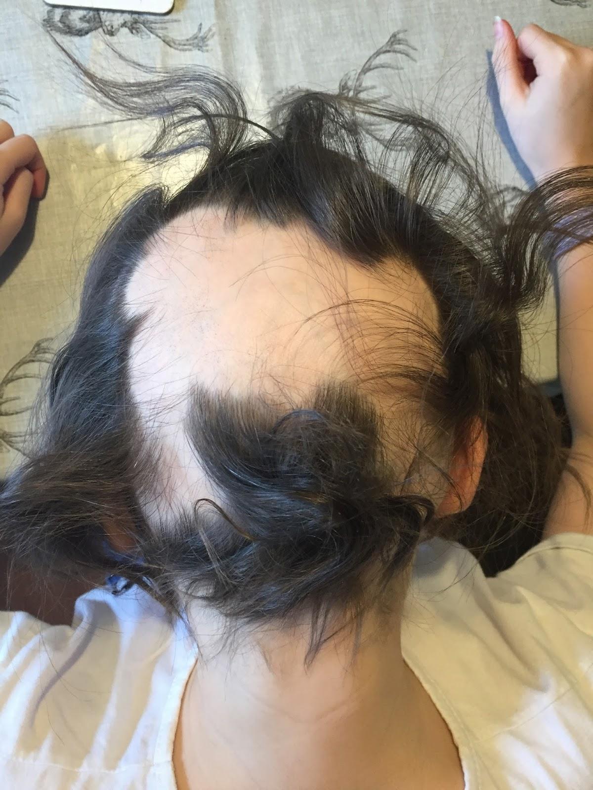 Cut ass hair