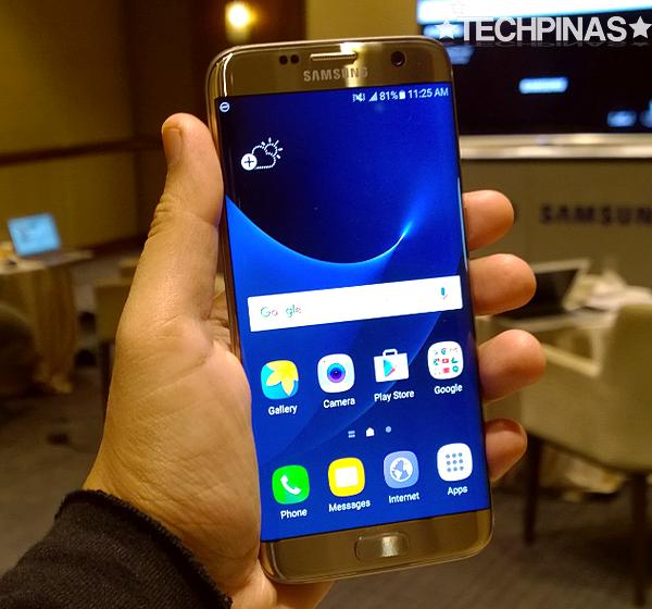 Samsung Galaxy S7 Edge vs Samsung Galaxy S7, Mark Milan Macanas