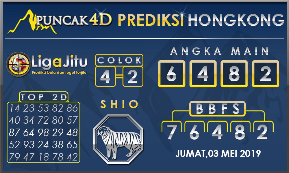 PREDIKSI TOGEL HONGKONG PUNCAK4D 03 MEI 2019