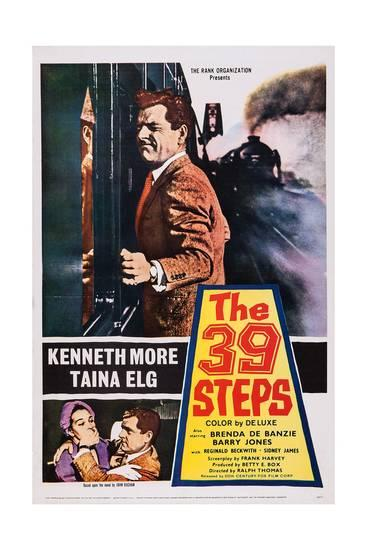The 39 Steps (1959) poster