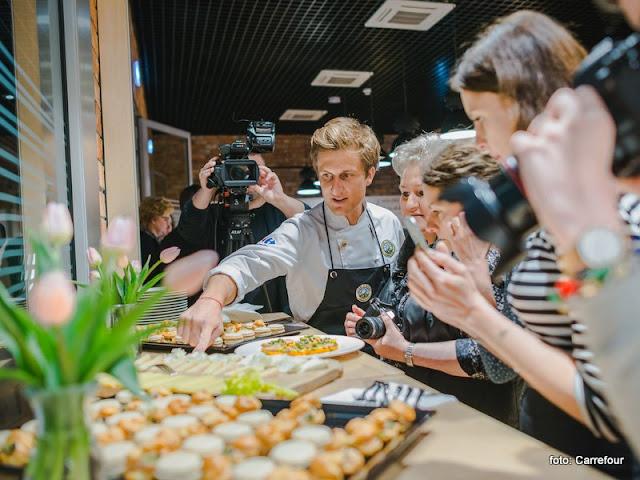 z milosci do smaku, warsztaty kulinarne, blogerzy kulinarni, gotowanie, studio kulinarne, smak kariery, carrefour, ksiazka kulinarna, kuchnia francuska, blogerzy gotuja,, spotkanie w kuchni, konkurs kulinarny, relacja z warsztatow, recenzja, david gaboriaud, maciej majewski