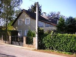 Casa onde Natascha Kampusch ficou cativa