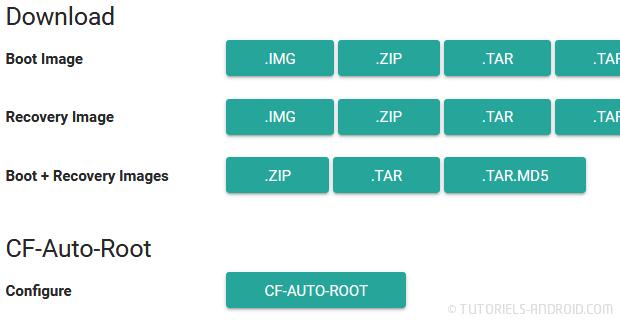Générer Cf-Auto-Root pour GALAXY S8