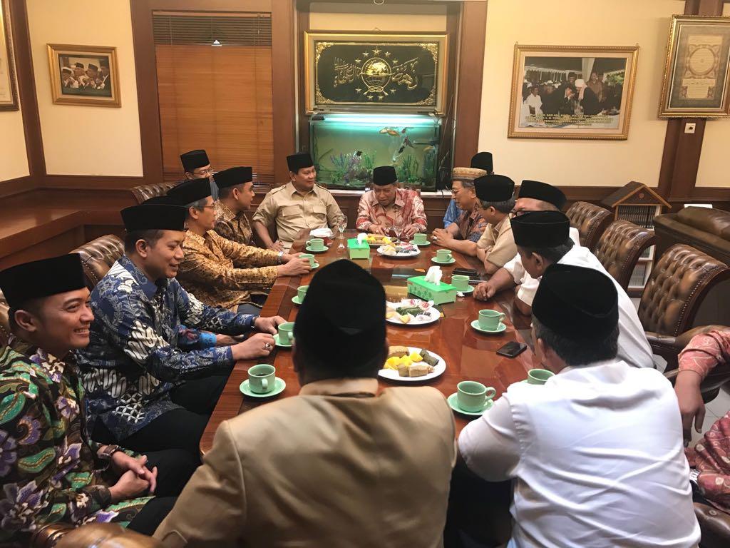 Kesaksian Said Aqil Siradj Soal Hubungan Prabowo-Gus Dur