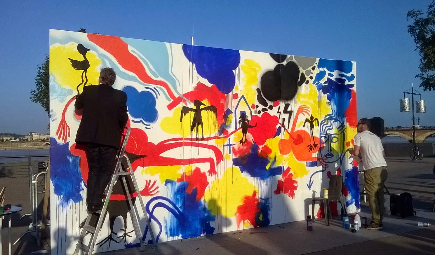 jbb artiste peintre bordeaux performance