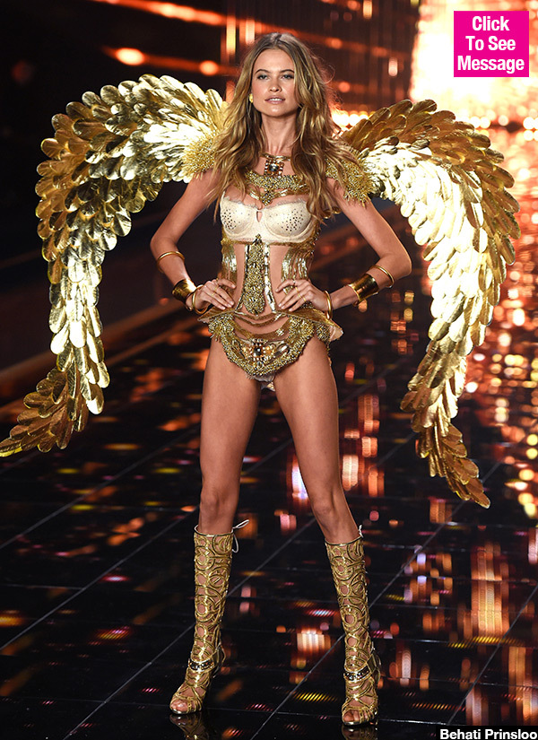 Behati Prinsloo Teases Epic Return To Victoria's Secret Fashion Show In Hot Throwback Pic