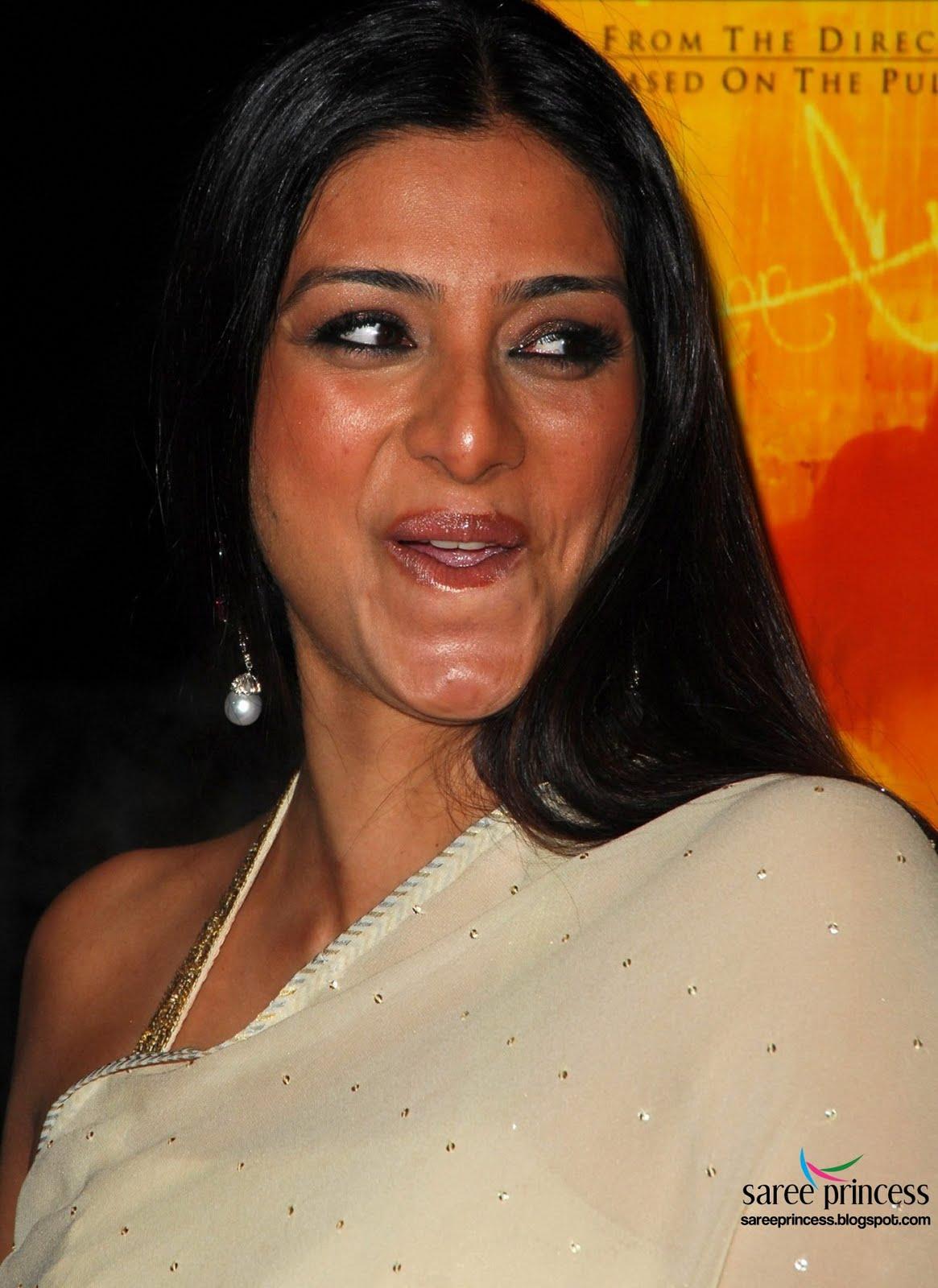 Tabu Bollywood Actress Sparkling Hot Photos In Transparent -1247