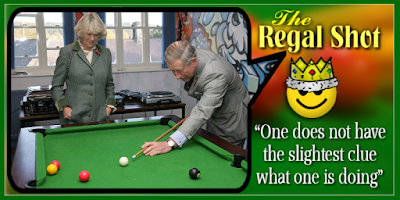 clueless prince charles on pool table